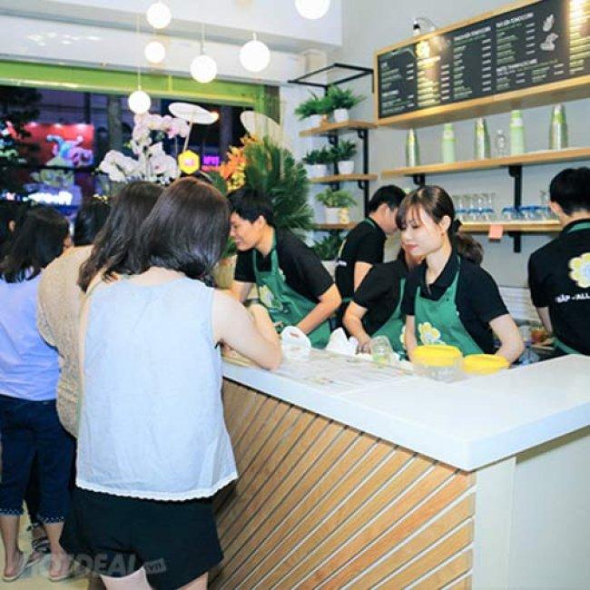 Hệ Thống Bắp - All About Corn: Combo Thạch Pha Lê + Bánh Dày Rong...