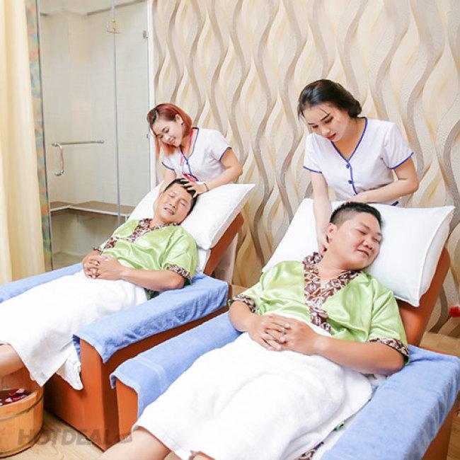 Massage Number One - Trọn Gói 90 Phút Massage Body/ Massage Foot