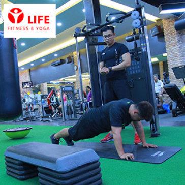 4 Tuần Tập Gym, Yoga, Zumba, Taichi Balance, Aerobic, Sauna Không Giới Hạn Tại Life Fitness & Yoga