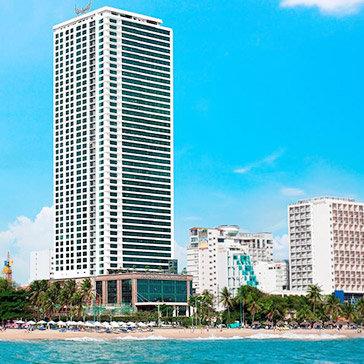 Beach Front Condotel 2N1Đ Nha Trang - Căn Hộ Studio 1 Phòng Ngủ Sea View – Dành Cho 4 Khách