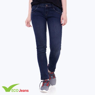 Quần Jean Dài Nữ JNUD-021A-M1-Ecojean