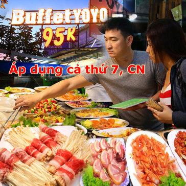 Yoyo BBQ - Buffet 79K Trên 40 Món Bò Mỹ, Úc + Hải Sản Nướng