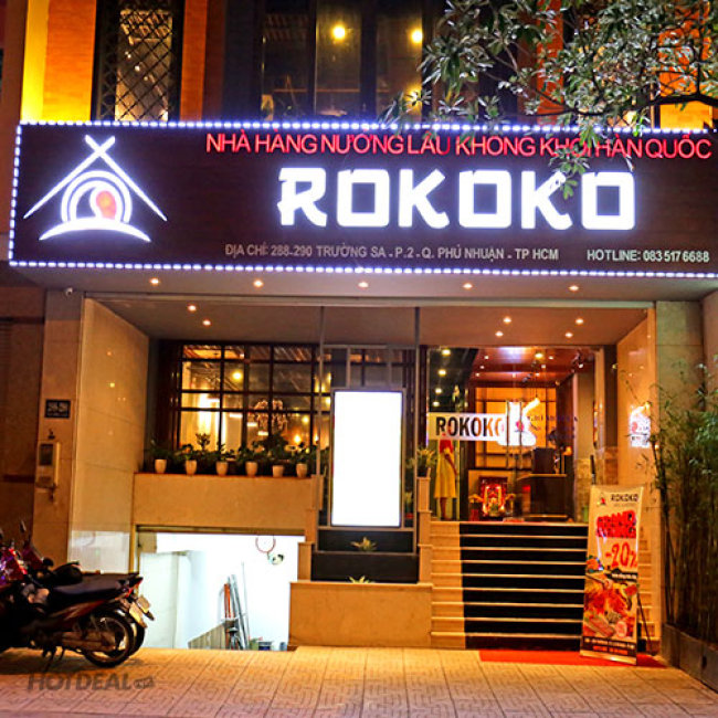Buffet Nướng Lẩu Tại Nhà Hàng Hàn Quốc Rokoko