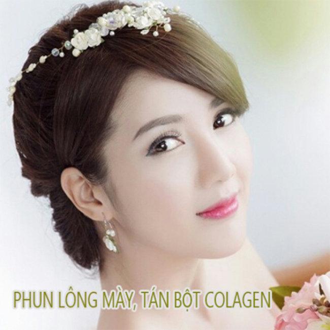 Phun Lông Mày, Tán Bột Collagen Tại Lady Beauty