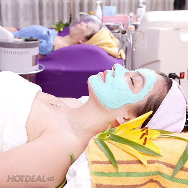 (100') Massage Body Tinh Dầu + Đá Nóng + Foot + Tẩy Tế Bào Chết...