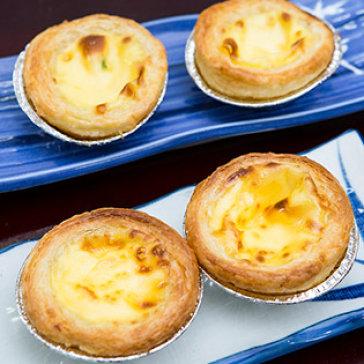 Nhân Ký Quán - Combo 4 Bánh Tart Trứng Béo Ngậy, Giòn Tan