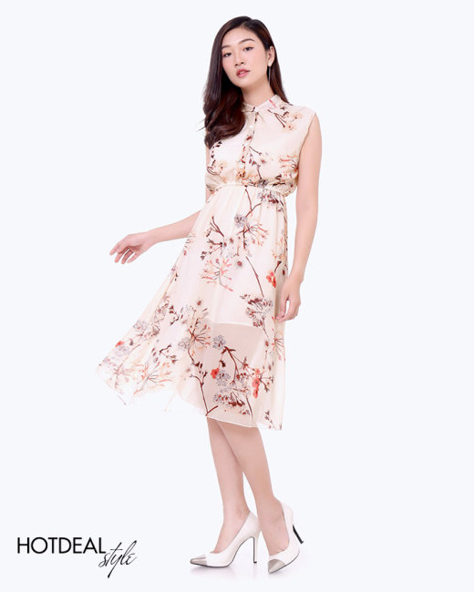 Đầm Maxi Hoa Dịu Dàng