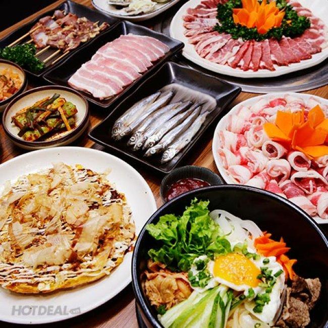Buffet Trưa/Tối Hơn 80 Món Nướng, Lẩu Nhật Bản Tại Nhà Hàng...