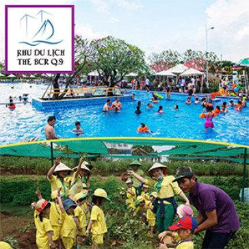 Vé 4 Trò Chơi: Hồ Bơi + Minigolf + Nông Trại + Bắn Trái Cây Dành Cho Trẻ Em Kèm 1 Người Lớn - KDL BCR