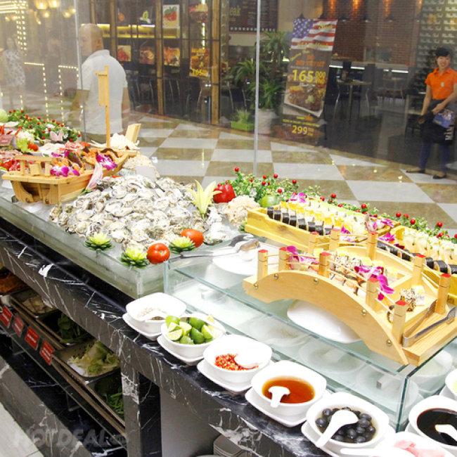 Deli Deli - Buffet Nướng - Menu Mới Siêu Hấp Dẫn - Áp Dụng Tại...