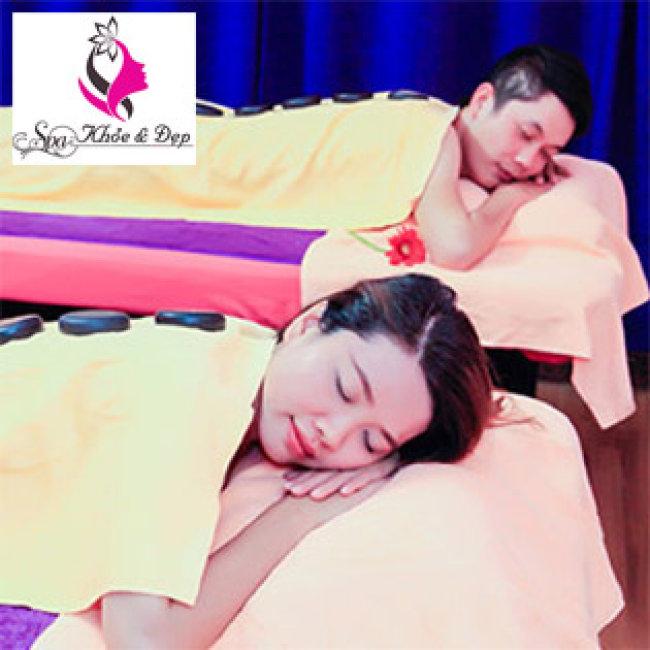 Spa Khỏe Và Đẹp 2 - Gói Massage Body + Đá Nóng Toàn Thân + Massage...
