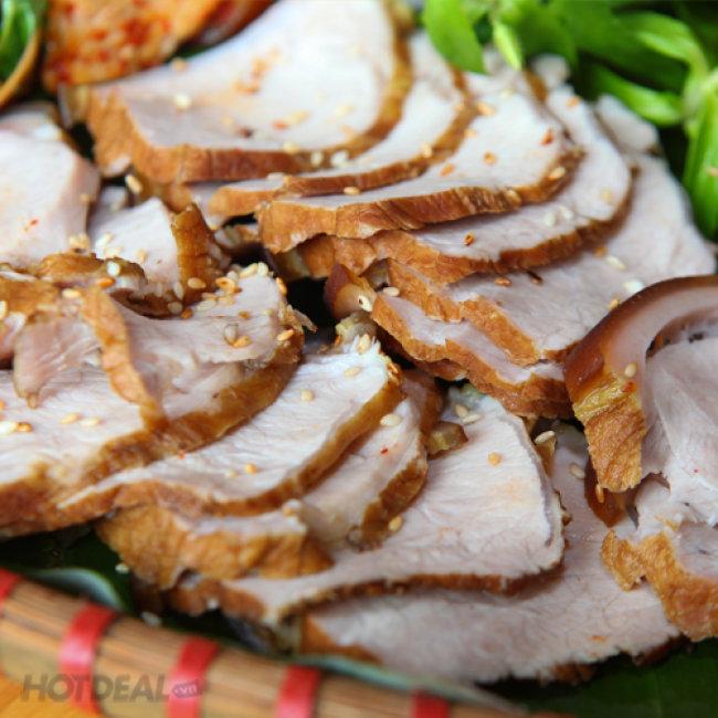 Set Lợn Mán Dành Cho 4 Người Tại Nhà Hàng Tùng Lâm