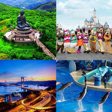 Tour Hong Kong Đẳng Cấp KS 4 Sao 3N2Đ Giá Cực Hot - Thiên Đường Tham Quan, Mua Sắm Và Giải Trí - Tự Chọn 1 Trong 3 Chương Trình Theo Ý Thích
