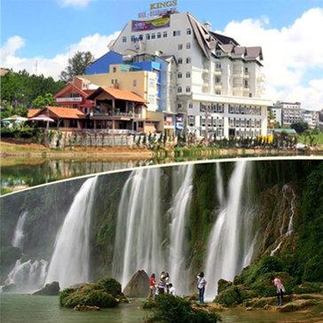 King's Hotel Đà Lạt 4* 3N2Đ Ăn Sáng Buffet + City Tour Đà Lạt 01 Ngày - Cho 02 Người