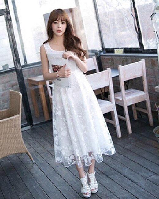 Đầm Ren Midy Sang Chảnh