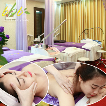 Massage Body Kết Hợp Chăm Sóc Da Mặt Chuyên Sâu Tại BBB Spa Laser...