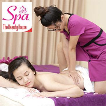 Miễn Tip - 90' Massage Body Đá Nóng, Foot + Chạy Vitamin C - The Beauty House Spa
