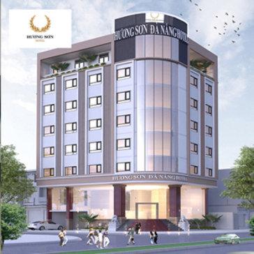 Khách Sạn Hương Sơn Đà Nẵng 3*, 2N1Đ + Ăn Sáng, Không Phụ Thu Cuối Tuần - Cho 02 Khách