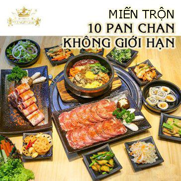 Giá Sốc - Set 14 Món Bò Mỹ 2-4 Người Tại Kingdom BBQ