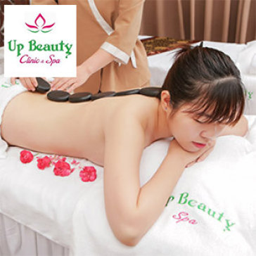 Massage Body Đá Nóng Tại Up Beauty Spa