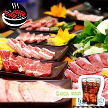 Buffet Nướng Lẩu Menu Vip Chuẩn Vị Nhật Tại Yaki Miễn Phí Coca...