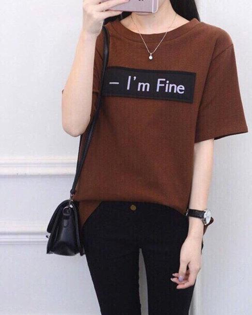 Áo Thun Nữ I'm Fine