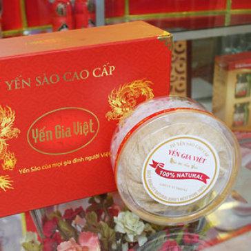 Yến Sào Cao Cấp Gia Việt 100Gr + 2 Tai Yến Trắng 20Gr - KH Bù Thêm...