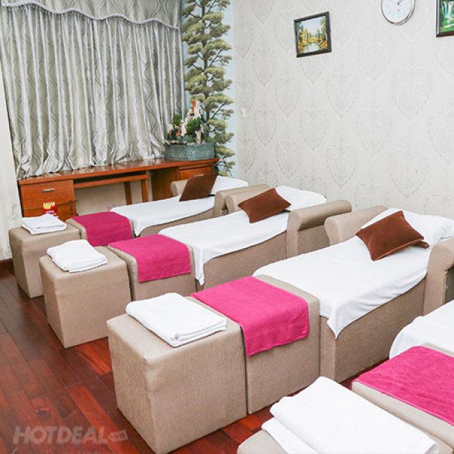 Foot Massage Chuyên Nghiệp Quý Phi Spa - Gói 75' Massage Foot + Body + Đá...