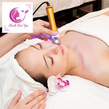 Hạnh Kim Spa - (75') Massage Mặt, Chạy Vitamin C, Đắp Mặt Nạ...