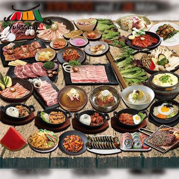Buffet Nướng Chuẩn Hàn Quốc Yukssam BBQ - Áp Dụng Buổi Trưa