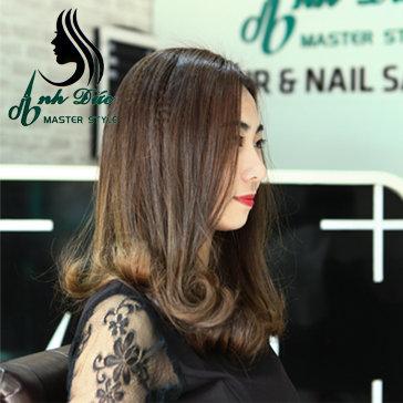 Trọn Gói Làm Tóc Tặng Thẻ Hấp 10 Buổi Tại Anh Đức Hair & Nail...