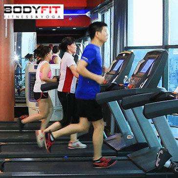 Bodyfit - Thẻ Tập Gym 01 Tháng + Thẻ Tập Cho Người Thân