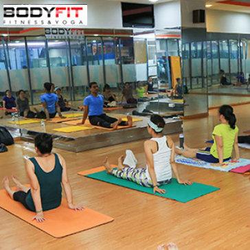 Khóa Học Yoga Ấn Độ 1 Tháng Không Giới Hạn Buổi Tập, Tặng 1 Thẻ Tập Gym 7 Ngày Tại TT Bodyfit Tân Bình