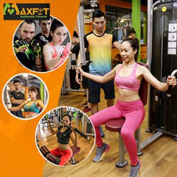 Thẻ 4 Tuần Tập Gym, Yoga & 8 Môn Group X Không Giới Hạn Thời Gian Tập + Tặng Thêm Ưu Đãi Hấp Dẫn - CLB Maxfit Đẳng Cấp Quốc Tế
