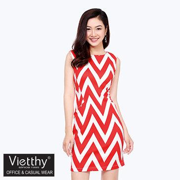Đầm Body Phối Túi Việt Thy