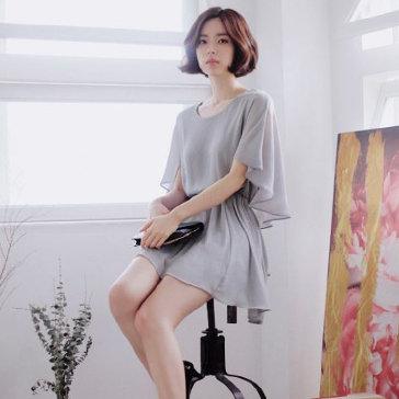 Đầm Voan Cánh Dơi Fashion