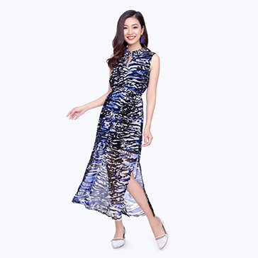 Đầm Maxi Xẻ Tà Đi Biển