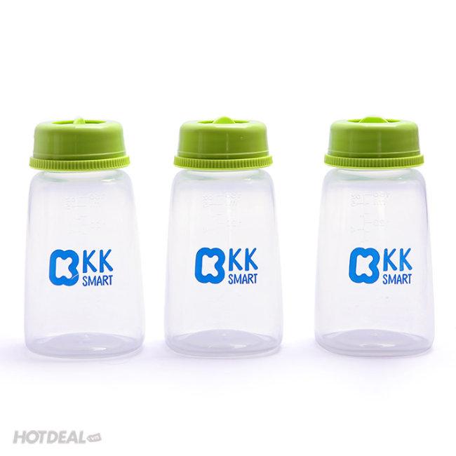 Bộ 3 Bình Trữ Sữa KK Smart - KK014