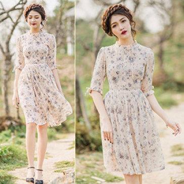 Đầm Hoa Princess Nana