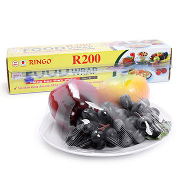 Màng Bọc Thực Phẩm PVC R200 Ringo 30CM X 15M THP