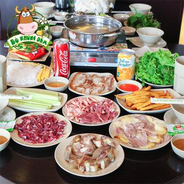 Bò Nhúng Dấm 555- Ưu Đãi Sốc Tại Linh Đàm+ Núi Trúc Dành Cho 4-6...