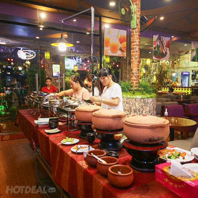 Buffet Tối Ốc, Hải Sản, BBQ & Lẩu Gần 60 Món - Cua/ Ghẹ Ăn...