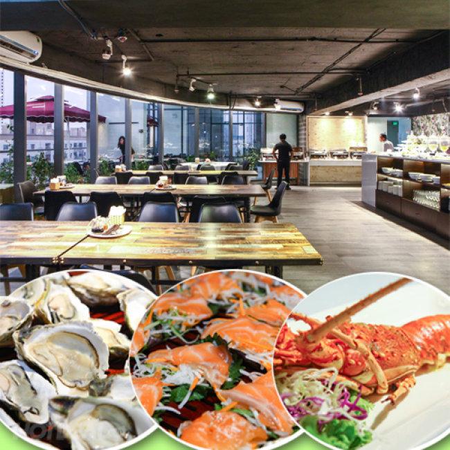 Buffet Hải Sản Quốc Tế Cao Cấp - Nhà Hàng Panxin