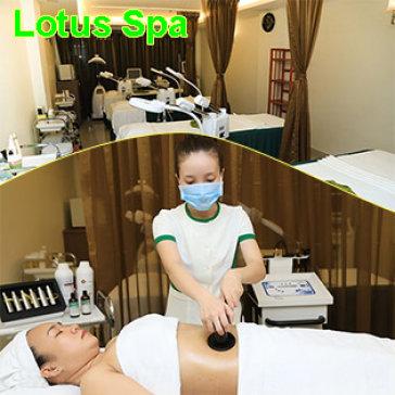 Miễn Tip, 5 Lần Giảm Béo Bằng Công Nghệ Lazer Cavitation - Lotus Spa
