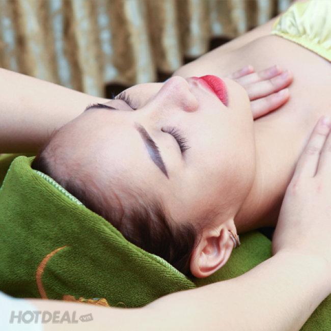 Hút Chì, Đào Thải Độc Tố, Làm Trắng Sáng Da Kèm Massage Cổ Vai...