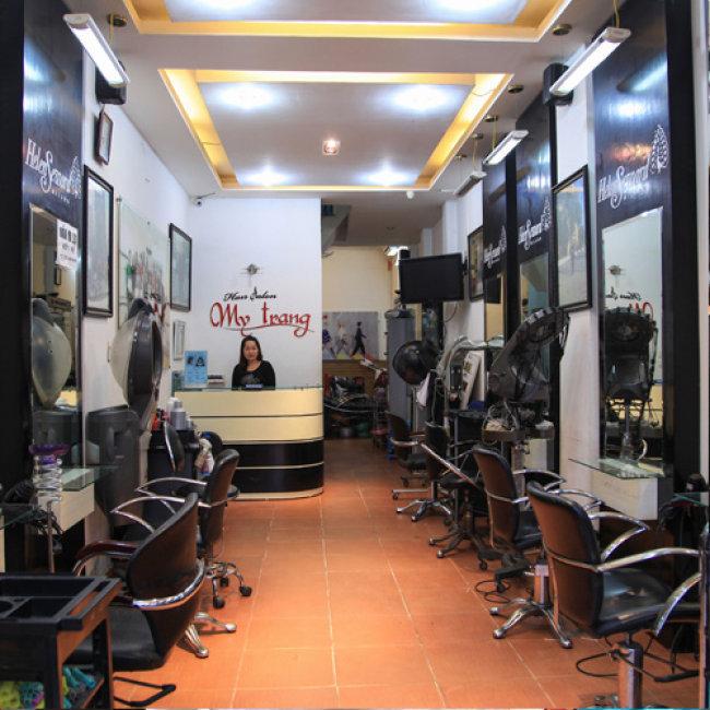 Làm Tóc Đẳng Cấp Tại My Trang Hair Salon