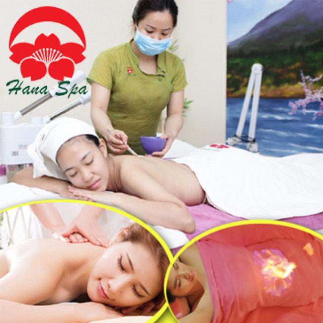 Massage Body Thư Giãn + Hỏa Long Cứu Điều Trị Tại Hana Spa