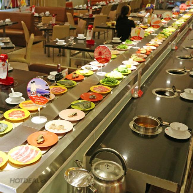 Buffet Thái Lẩu Băng Chuyền Hơn 40 Món Tại Coca Restaurant - Parkson...