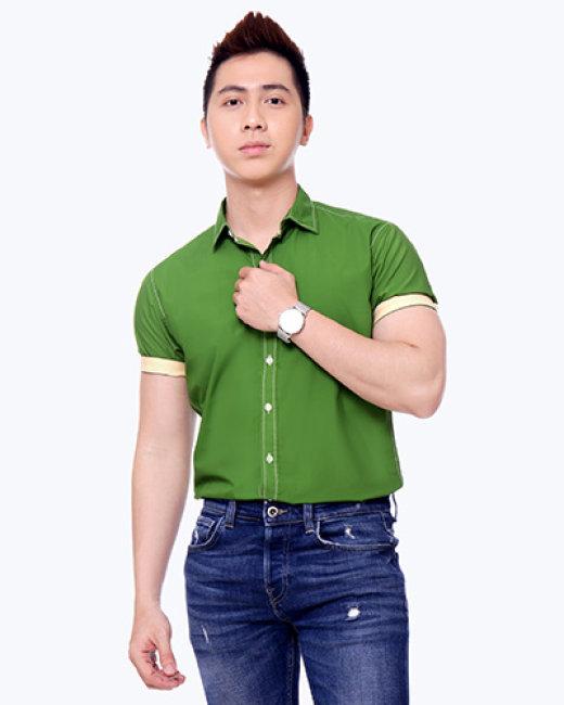 Áo Sơ Mi Nam Tay Ngắn S2315009 - TH MK Jeans