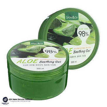 Gel Dưỡng Ẩm Nha Đam Skin&Dr Aloe 98% Smoothing Gel 300ML